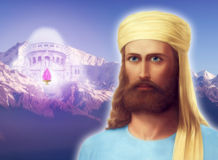 Ascended Master El Morya in etheric retreat