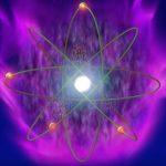 Atom Violet Flame Visualization